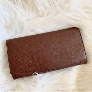 Vintage Coach brown leather wallet
